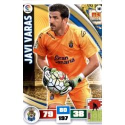 Javi Varas Las Palmas 181 Adrenalyn XL La Liga 2015-16