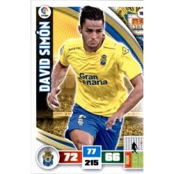 David Simón Las Palmas 182 Adrenalyn XL La Liga 2015-16