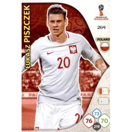 Łukasz Piszczek Polonia 264 Adrenalyn XL World Cup 2018
