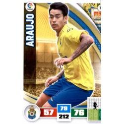 Araujo Las Palmas 191 Adrenalyn XL La Liga 2015-16
