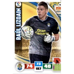 Raúl Lizoain Las Palmas 192 Adrenalyn XL La Liga 2015-16