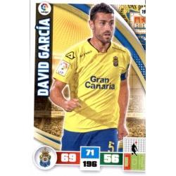 David García Las Palmas 193 Adrenalyn XL La Liga 2015-16