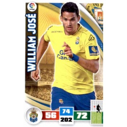 William José Las Palmas 198 Adrenalyn XL La Liga 2015-16