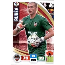 Rubén Levante 199 Adrenalyn XL La Liga 2015-16