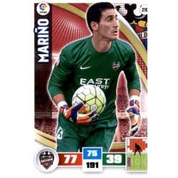 Marino Levante 210 Adrenalyn XL La Liga 2015-16