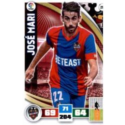 Jose Mari Levante 213 Adrenalyn XL La Liga 2015-16