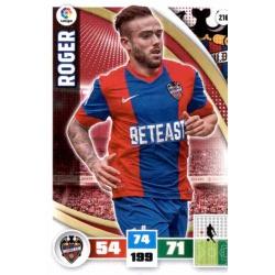 Roger Levante 216 Adrenalyn XL La Liga 2015-16