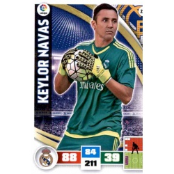 Keylor Navas Real Madrid 217 Adrenalyn XL La Liga 2015-16
