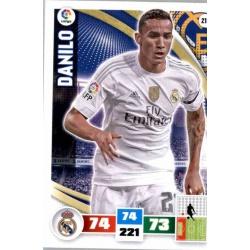 Danilo Real Madrid 218 Adrenalyn XL La Liga 2015-16