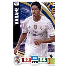 Varane Real Madrid 219 Adrenalyn XL La Liga 2015-16