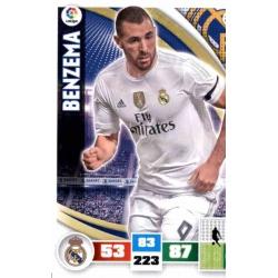 Benzema Real Madrid 226 Adrenalyn XL La Liga 2015-16