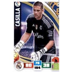 Casilla Real Madrid 228 Adrenalyn XL La Liga 2015-16