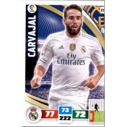 Carvajal Real Madrid 229 Adrenalyn XL La Liga 2015-16