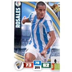Rosales Málaga 236 Adrenalyn XL La Liga 2015-16