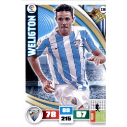 Weligton Málaga 238 Adrenalyn XL La Liga 2015-16