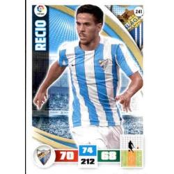 Recio Málaga 241 Adrenalyn XL La Liga 2015-16