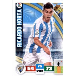 Ricardo Horta Málaga 242 Adrenalyn XL La Liga 2015-16