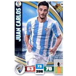 Juan Carlos Málaga 243 Adrenalyn XL La Liga 2015-16