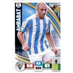 Amrabat Málaga 244 Adrenalyn XL La Liga 2015-16