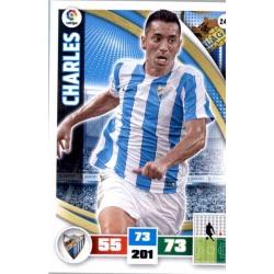 Charles Málaga 245 Adrenalyn XL La Liga 2015-16