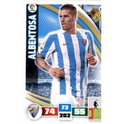 Albentosa Málaga 248 Adrenalyn XL La Liga 2015-16