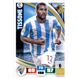 Tissone Málaga 249 Adrenalyn XL La Liga 2015-16