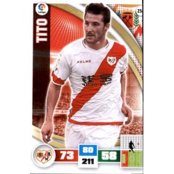 Tito Rayo Vallecano 254 Adrenalyn XL La Liga 2015-16