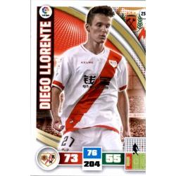 Diego Llorente Rayo Vallecano 256 Adrenalyn XL La Liga 2015-16