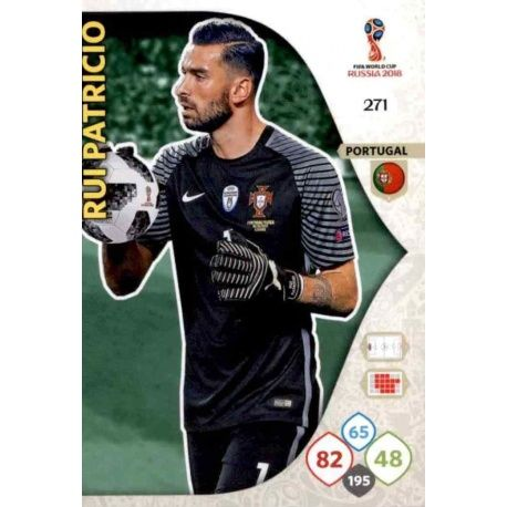 Rui Patricio Portugal 271 Adrenalyn XL Russia 2018