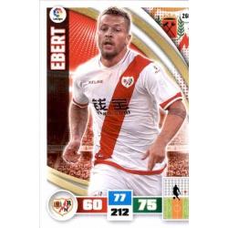 Ebert Rayo Vallecano 260 Adrenalyn XL La Liga 2015-16