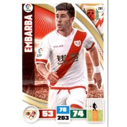 Embarba Rayo Vallecano 261 Adrenalyn XL La Liga 2015-16