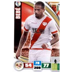 Bebé Rayo Vallecano 262 Adrenalyn XL La Liga 2015-16