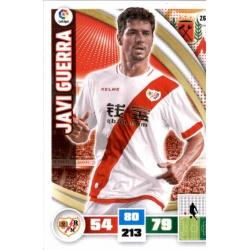 Javi Guerra Rayo Vallecano 263 Adrenalyn XL La Liga 2015-16