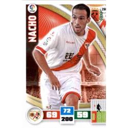 Nacho Rayo Vallecano 266 Adrenalyn XL La Liga 2015-16