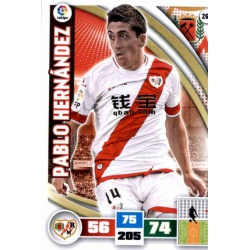 Pablo Hernández Rayo Vallecano 268 Adrenalyn XL La Liga 2015-16