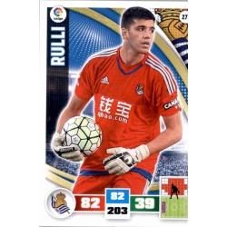 Rulli Real Sociedad 271 Adrenalyn XL La Liga 2015-16