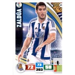 Zaldúa Real Sociedad 272 Adrenalyn XL La Liga 2015-16