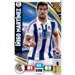 Íñigo Martínez Real Sociedad 274 Adrenalyn XL La Liga 2015-16
