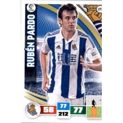 Rubén Pardo Real Sociedad 277 Adrenalyn XL La Liga 2015-16