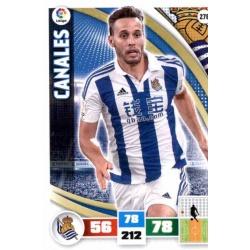 Canales Real Sociedad 278 Adrenalyn XL La Liga 2015-16