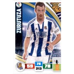 Zurutuza Real Sociedad 279 Adrenalyn XL La Liga 2015-16