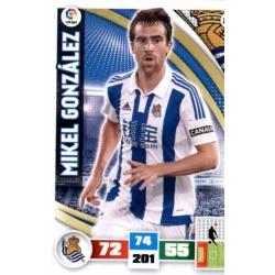 Mikel González Real Sociedad 283 Adrenalyn XL La Liga 2015-16