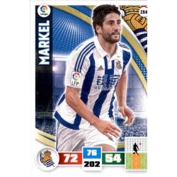 Markel Real Sociedad 284 Adrenalyn XL La Liga 2015-16