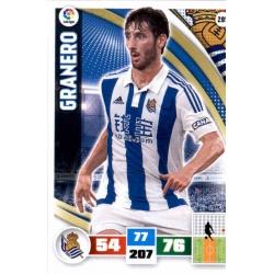 Granero Real Sociedad 285 Adrenalyn XL La Liga 2015-16