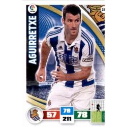 Aguirretxe Real Sociedad 287 Adrenalyn XL La Liga 2015-16