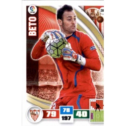 Beto Sevilla 289 Adrenalyn XL La Liga 2015-16
