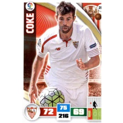 Coke Sevilla 290 Adrenalyn XL La Liga 2015-16