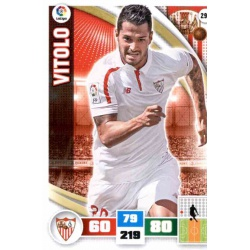 Vitolo Sevilla 296 Adrenalyn XL La Liga 2015-16