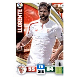 Llorente Sevilla 299 Adrenalyn XL La Liga 2015-16