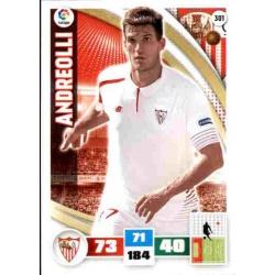 Andreolli Sevilla 301 Adrenalyn XL La Liga 2015-16